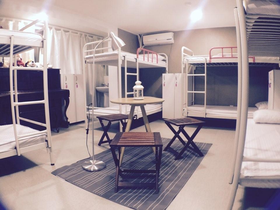 10인실 도미토리 전용공간 단체룸
