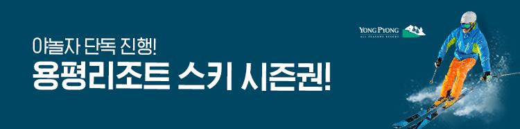 용평리조트 스키시즌권