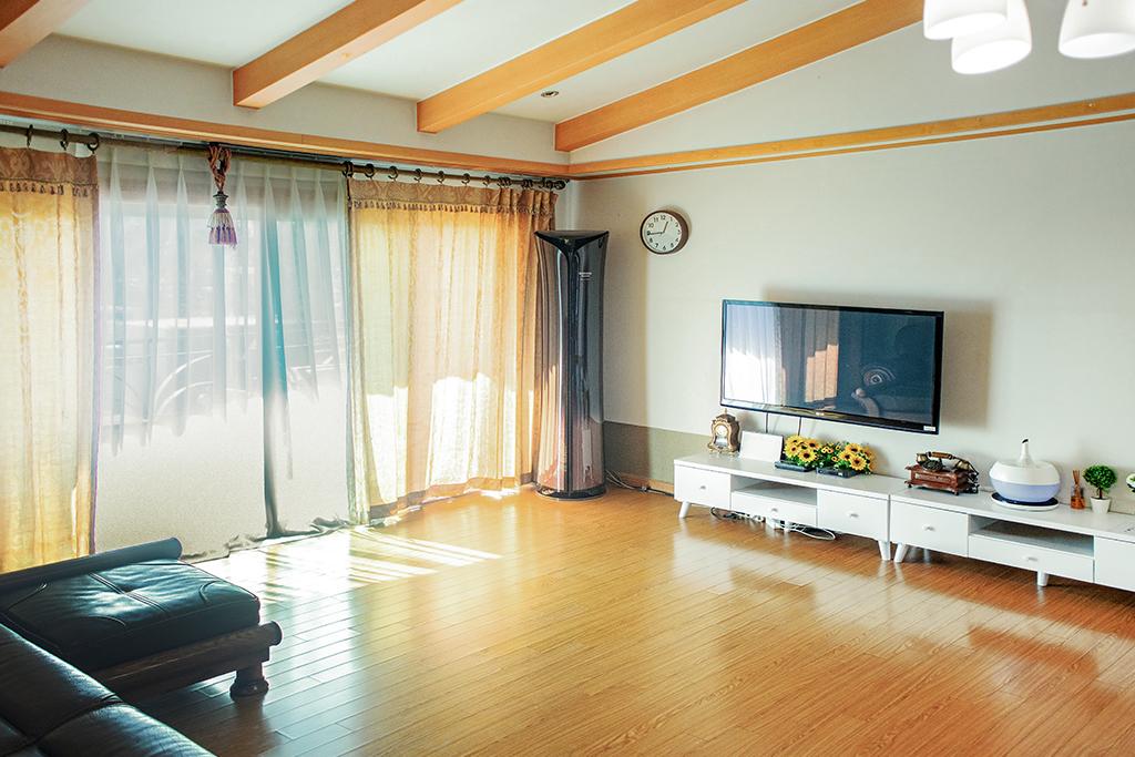 탄산온천펜션 6인실패밀리룸 40평(탄산온천 2회 이용 할인권 판매)