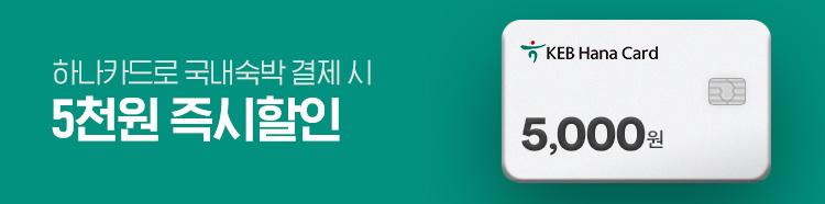 [제휴] 하나카드